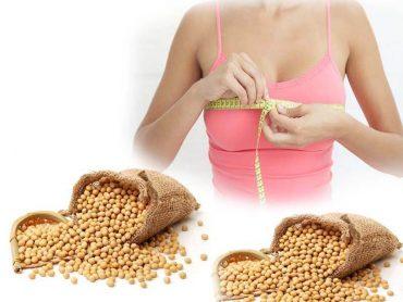Bí quyết tăng vòng 1 hiệu quả nhờ uống sữa mầm đậu nành sau 6 tuần