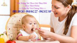 Giá trông trẻ tại nhà và thực trạng tìm người trông trẻ tại nhà TPHCM