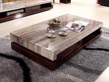 Các kiểu dáng bàn trà sofa phổ biến nhất hiện nay