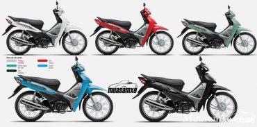 Chi tiết giá bán, màu sắc vua xe số Honda Wave Alpha 2019 110